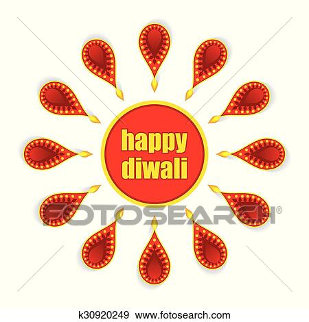 Clip art of diwali greeting card design k30920249 search clipart clip art diwali greeting card design fotosearch search clipart illustration posters m4hsunfo