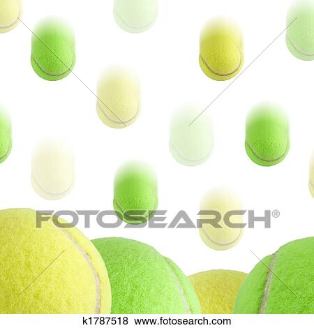 Stock Illustration Of Tennis Ball Background K1787518 Search Eps