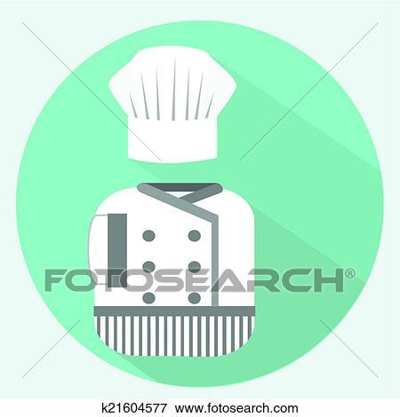 Clip Art Of Chef Uniform K21604577