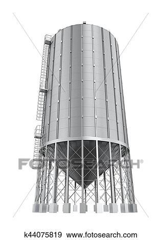 Colección de ilustraciones - bulto, comida, silo k44075819 - Buscar ...