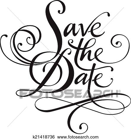 clip art of save the date k21418736 search clipart illustration rh fotosearch com clipart save the date free clipart save the date free