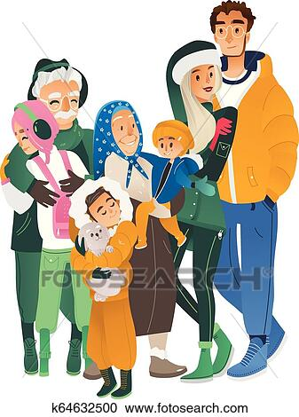 Family Clipart Free Family Clipart At Getdrawings Free - Clipart Extended  Family Png Transparent PNG - 1024x1024 - Free Download on NicePNG