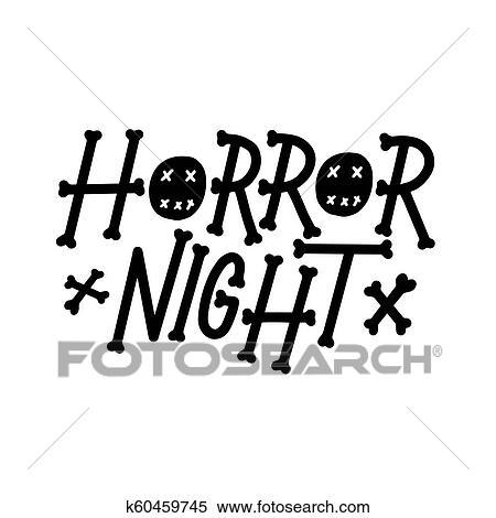 Cartão Postal Frase Para Feliz Halloween Modernos E