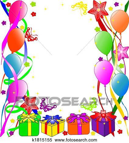 stock illustration of happy birthday background k1815155 search