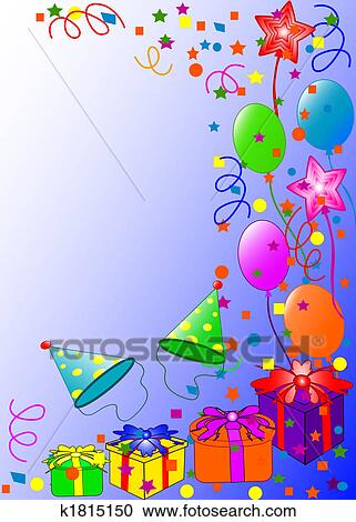 stock illustrations of happy birthday background k1815150 search