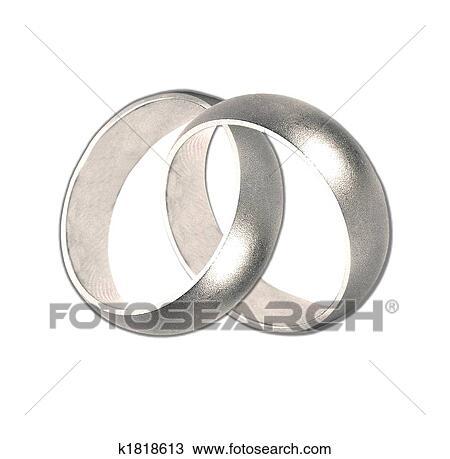 Zeichnung Hochzeit Ringe Silber K1818613 Suche Clipart