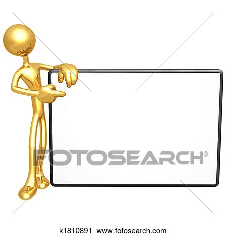 clipart of holding blank sign k1810891 search clip art rh fotosearch com blank interstate sign clipart blank street sign clipart