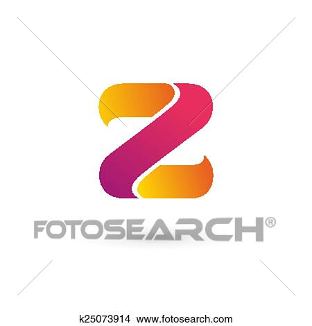 Clipart of Letter Z logo icon design template elements k25073914 ...