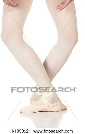 stock photography of ballet feet positions k1830521 search stock