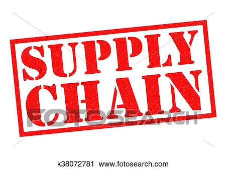 Clipart Of SUPPLY CHAIN K38072781