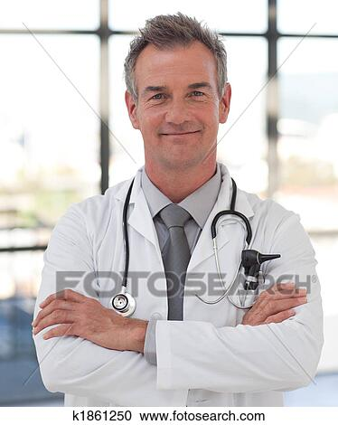 Mature doctor