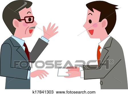 Business card exchange clipart business card exchange colourmoves