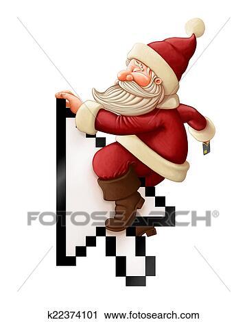 Clipart Papai Noel E Comprar Linha K22374101 Busca De