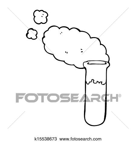 Test Tube Cartoon