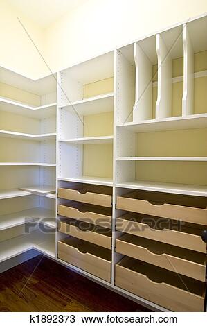 empty walk in closet. Beautiful Closet Empty Walkin Closet With Shelves And Drawers For Walk In Closet