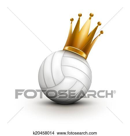 Kresby Volleyball Koule S Kralovsky Temeno O Knezna K20458014