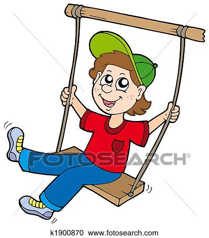 stock illustrations of boy on swing k1900870 search clipart rh fotosearch com sewing clip art images sewing clip art for business cards
