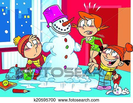 Immagini Natale Umoristiche.Clipart Natale Sorpresa Per Mamma K20595700 Cerca Clipart
