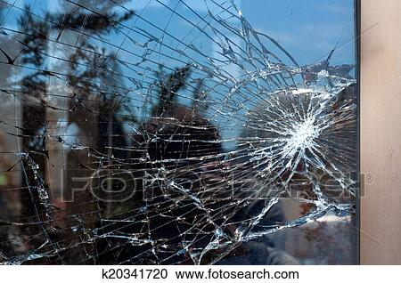 stock photography of broken glass k20341720 search stock