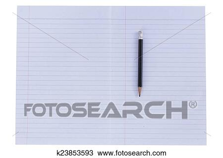 Lined Paper Background Stock Image K23853593 Fotosearch