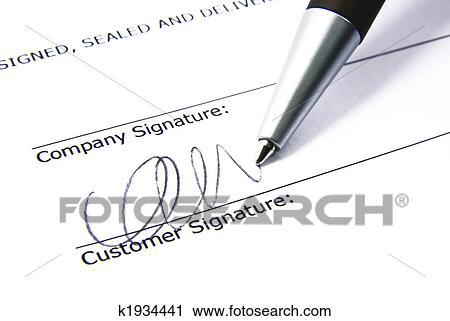 stock photography of contract signing 2 k1934441 search stock