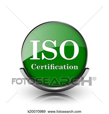 Stock Illustration of ISO certification icon k20070989 - Search ...