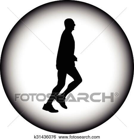 runner vector icon clip art k31436076 fotosearch fotosearch