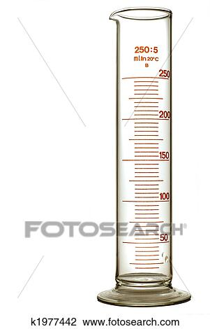Graduated Cylinder Stock Image K1977442 Fotosearch