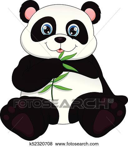 Clipart Mignon Rigolote Bebe Panda K52320708 Recherchez Des