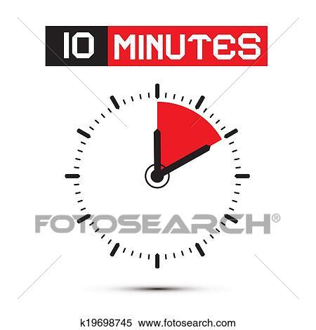 Zehn Minuten Email