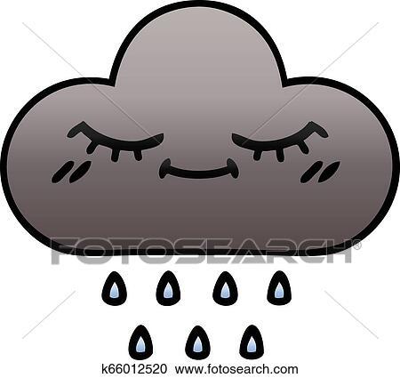 Rain - Cute Rain Cloud Clipart (#51343) - PinClipart