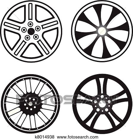clip art of wheels k8014938 search clipart illustration posters rh fotosearch com wheel clipart hot wheels clipart