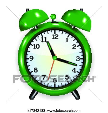 Alarm Clock Red PNG Clip Art   Clock clipart, Clip art, Clock