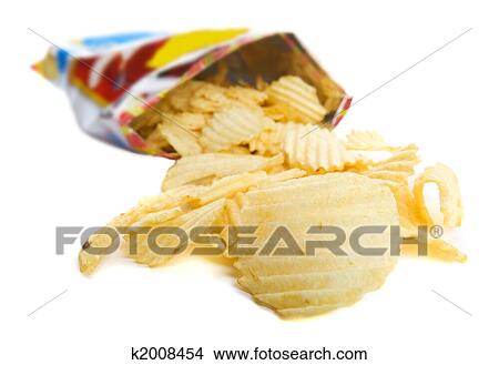 Bag Of Chips Picture K2008454 Fotosearch
