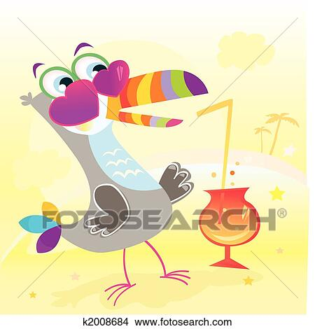 Beach party Clipart | k2008684 | Fotosearch
