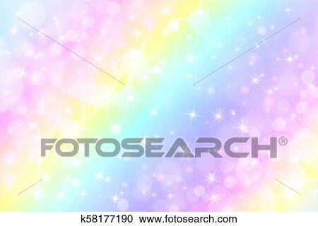 holographic vector illustration in clipart  k58177190