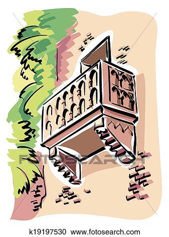 Clipart Verona Juliet Balcony K19197530 Suche Clip Art