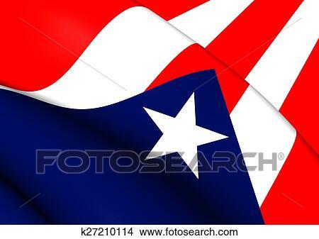 dibujos bandera de puerto rico k27210114 buscar clip art