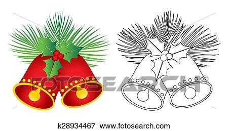 Christmas Bells Images Clip Art.Christmas Jingle Bells Clip Art