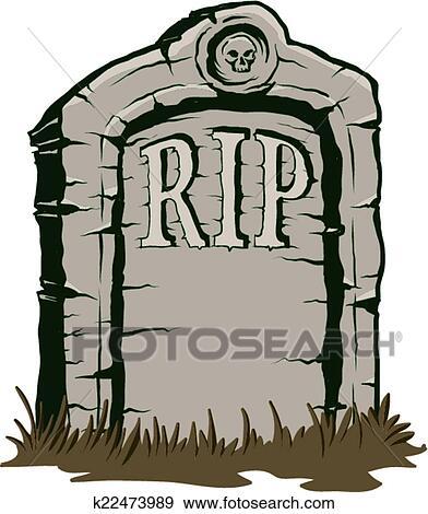 Clipart pierre tombale k22473989 recherchez des cliparts des illustrations des dessins et - Pierre tombale dessin ...