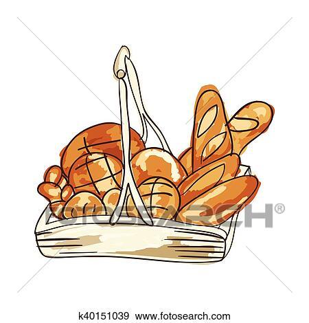 Clipart Boulangerie Pain Produits K40151039 Recherchez Des
