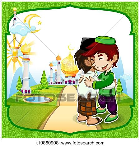 Clip art of eid mubarak greeting card k19850908 search clipart clip art eid mubarak greeting card fotosearch search clipart illustration posters m4hsunfo