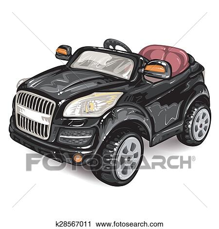 Toy Car For Kids Clipart K28567011 Fotosearch