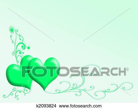 Tekeningen Hartjes Achtergrond K2093824 Zoek Clipart