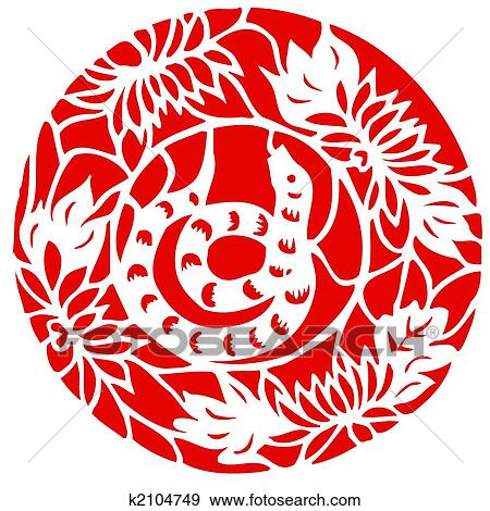 stock illustration of chinese zodiac of snake year k2104749 search
