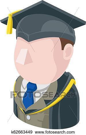 Professor Teacher Man Avatar People Icon Clip Art K62663449 Fotosearch