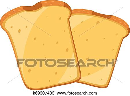 Image Of Bread Vector Or Color Illustration Clipart K69307483 Fotosearch