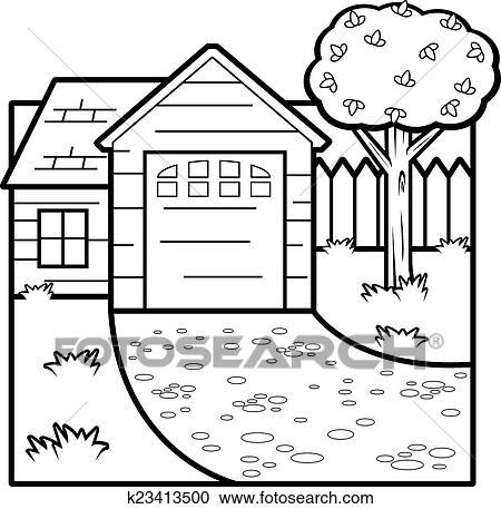 Cartoon House Clipart
