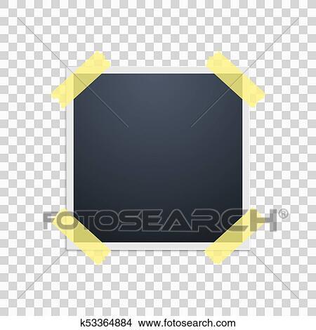 transparent polaroid film frame clipart pictures www