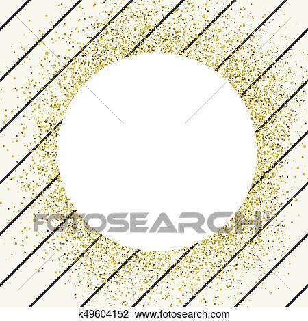 Invitation Card Design Template Diagonall Thin Black Lines